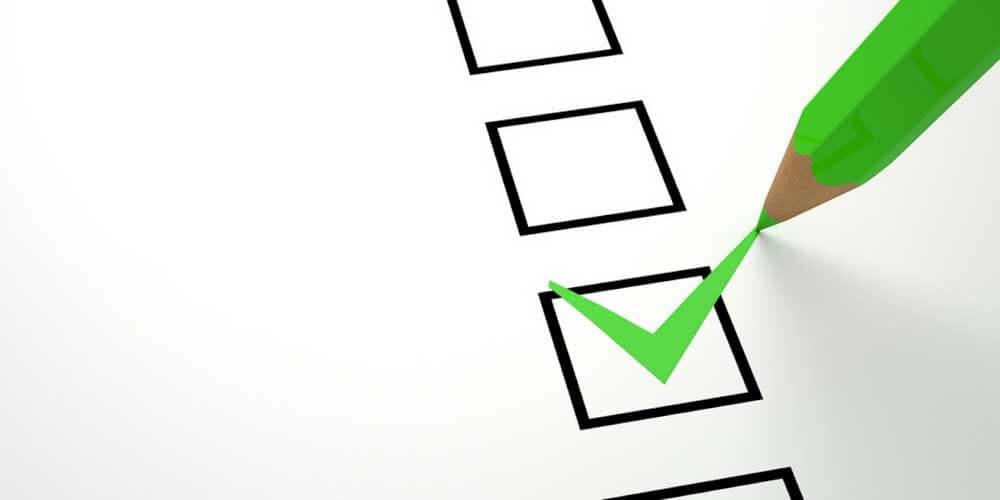 child care checklist